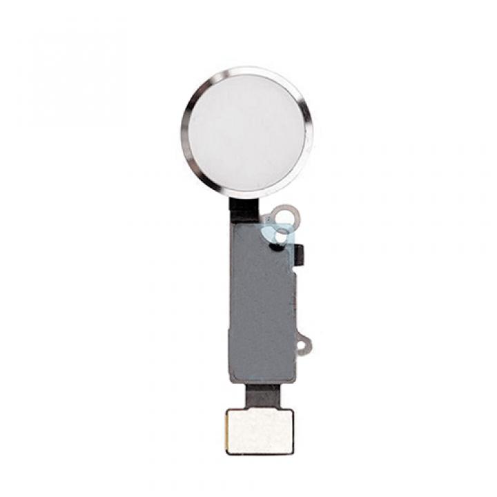Iphone 7 home button tipka z vezjem bela