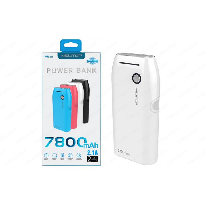 Newtop Power bank 7800 mAh