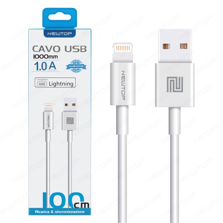 Newtop Apple lightning kabel 1m