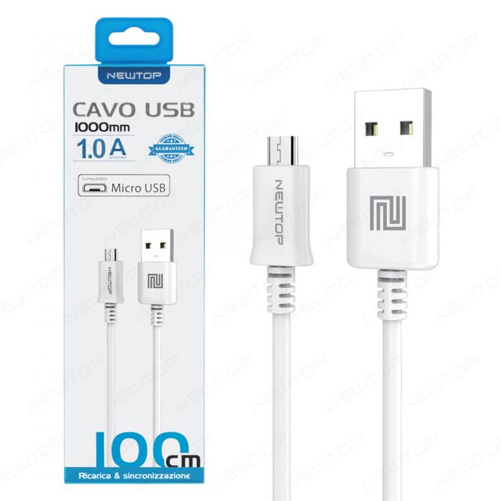 Newtop MICRO USB kabel 1m