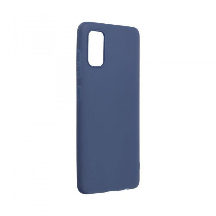 Samsung A41 silikonski ovitek/etui temno moder