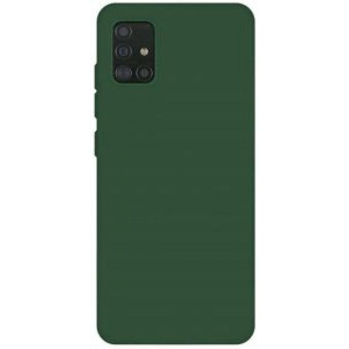 Samsung A31 silikonski ovitek/etui temno zelen