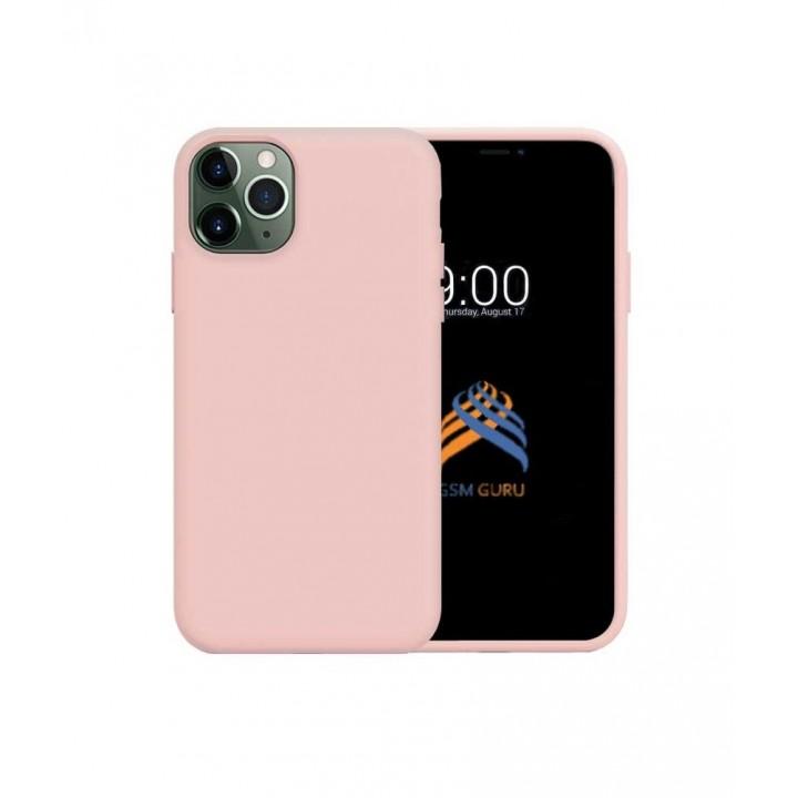 Iphone 11 Pro silikonski ovitek/etui roza