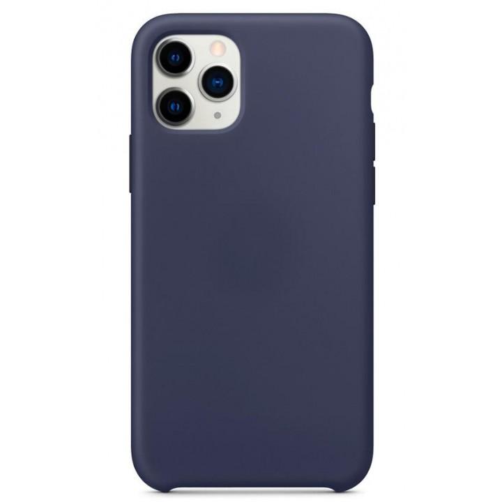 Iphone 11 Pro silikonski ovitek/etui temno moder