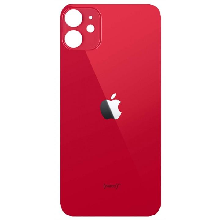 Iphone 11 pokrov baterije rdeč