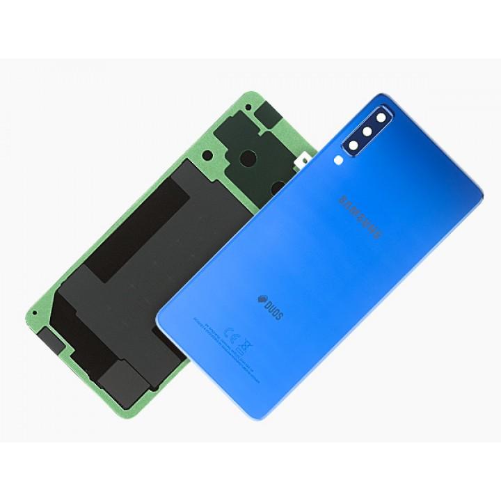 Samsung A7 2018 pokrov baterije moder