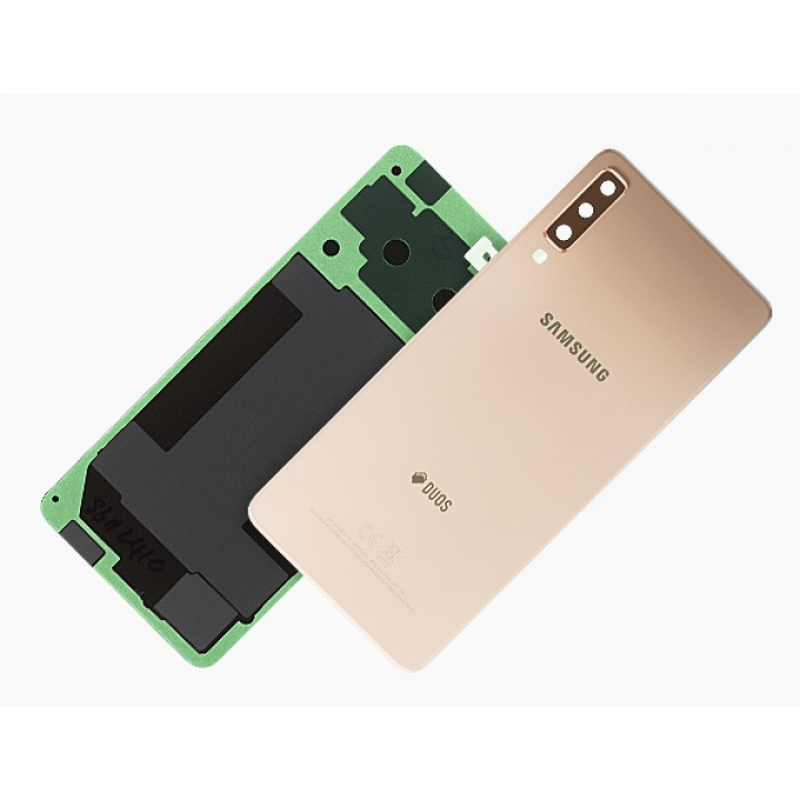 Samsung A7 2018 pokrov baterije zlat