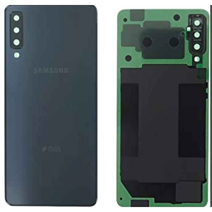 Samsung A7 2018 pokrov baterije črn