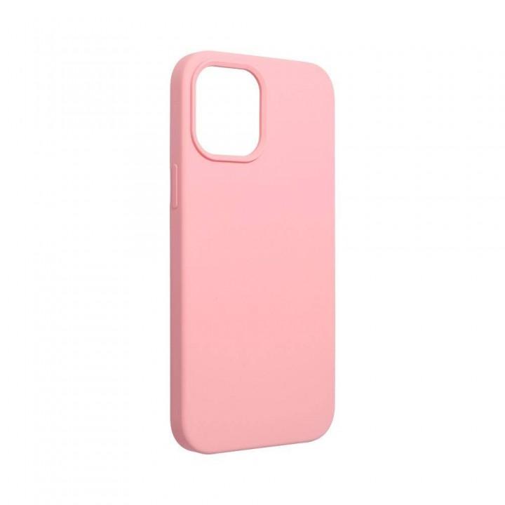 Iphone 12 mini silikonski etui roza
