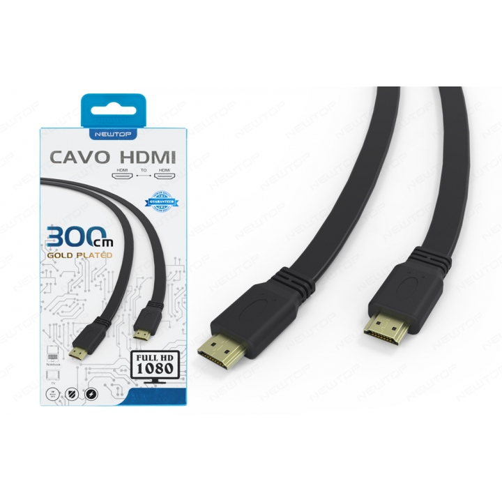 Newtop HDMI kabel M/M 3.0m