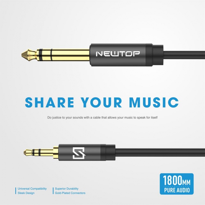 Newtop Aux kabel Aud 1.8m M/M