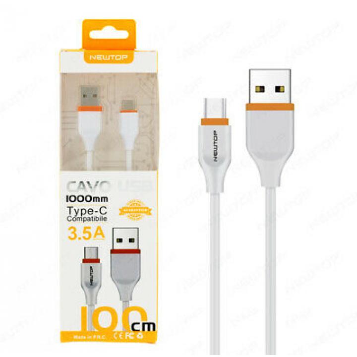 Newtop MICRO USB kabel 3.5A 1m