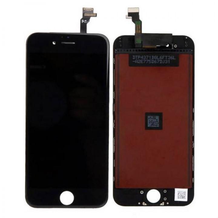 Iphone 6 lcd ekran zaslon črn
