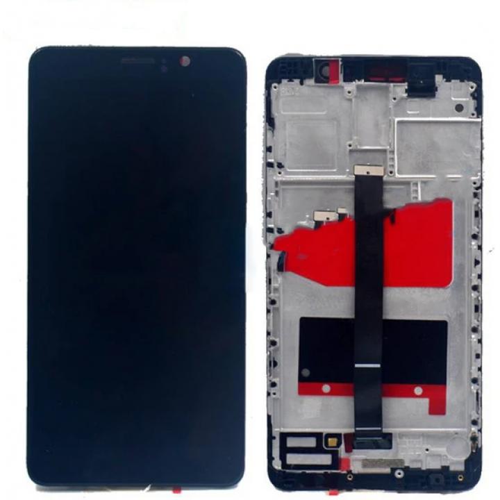 Huawei Mate 9 lcd ekran zaslon z ohišjem črn
