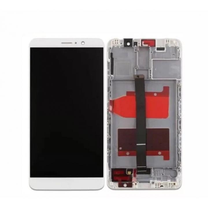 Huawei Mate 9 lcd ekran zaslon z ohišjem bel
