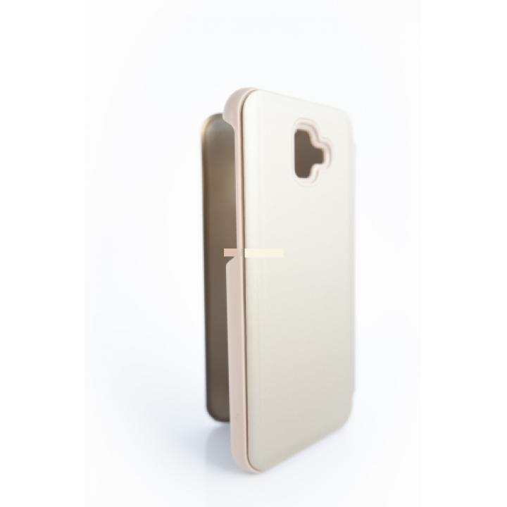 Samsung J6 Plus preklopna torbica clear view - prozorna