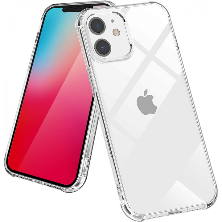 Iphone 12 ovitek/etui 2mm guma