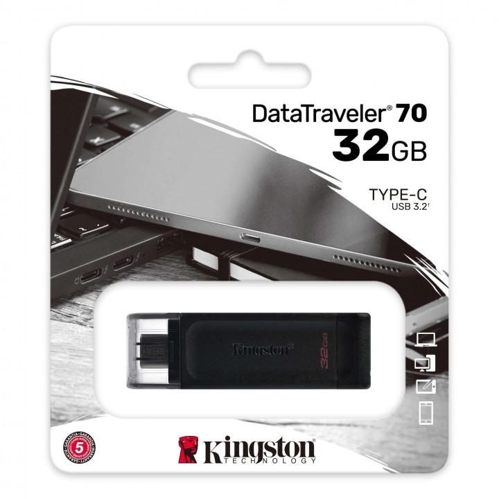 Kingston DataTraveler 70 USB TYPE-C 32GB