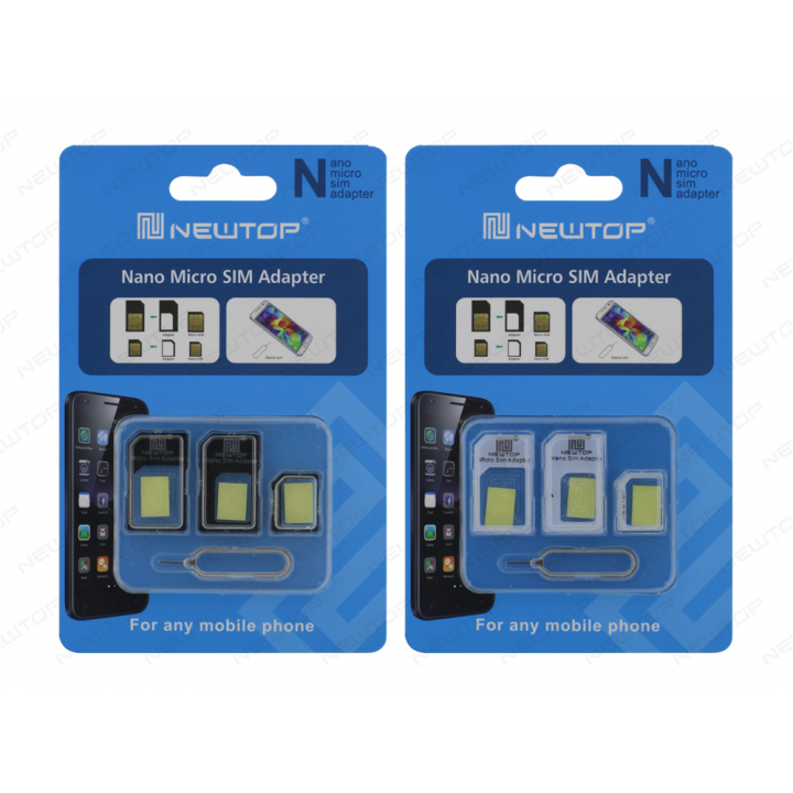Newtop adapter Micro Nano za sim