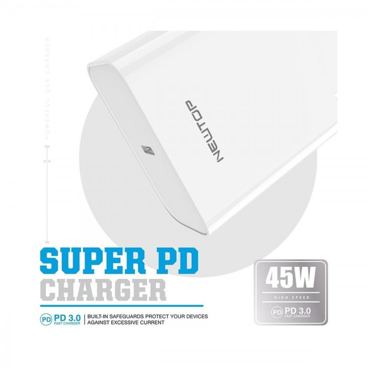 Newtop univerzalen super hiter adapter 45W Type-C vhod