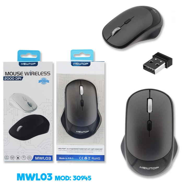 Newtop brezžična računalniška miška