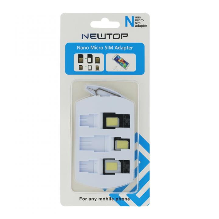 Newtop Nano Micro SIM adapter