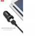 XO avtopolnilec z Lightning kablom dvojni USB 2.1A